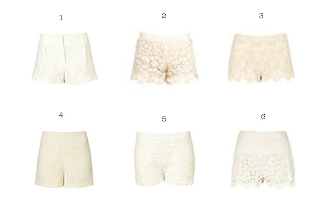 Collage-lace-shorts