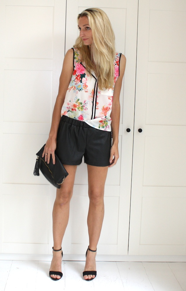 Florals & leather