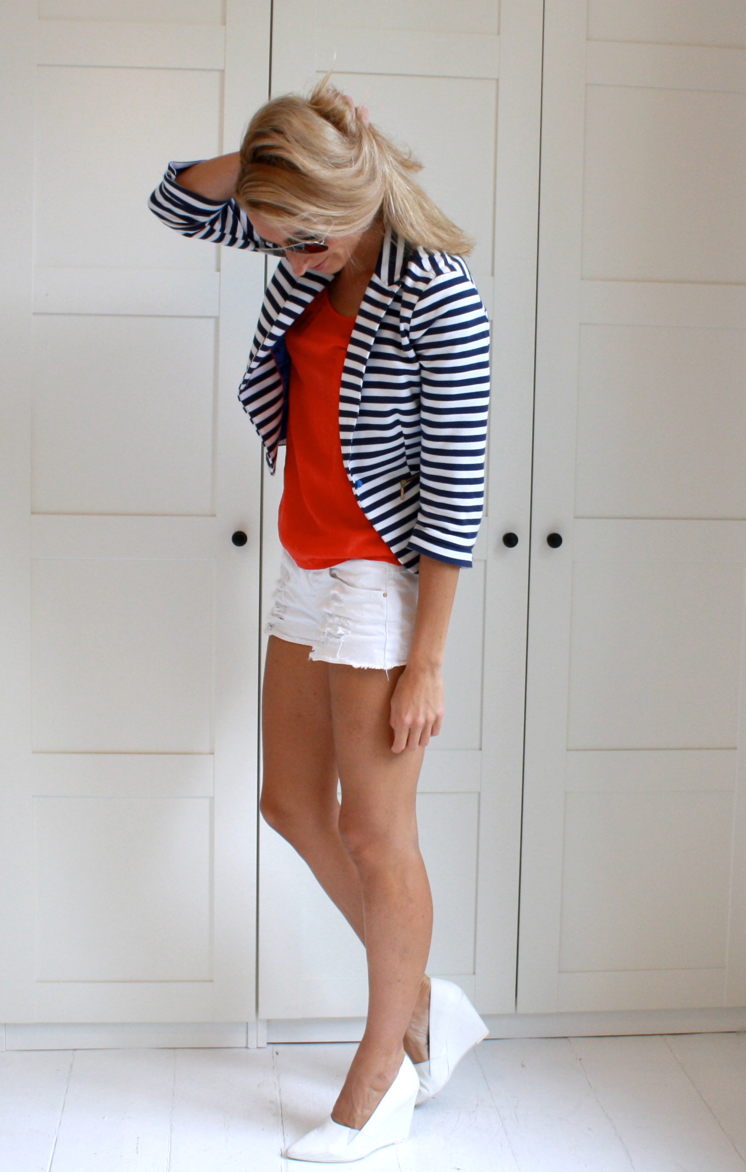 orange & stripes
