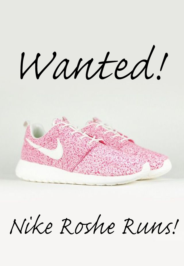 Wanted.nikerosheruns