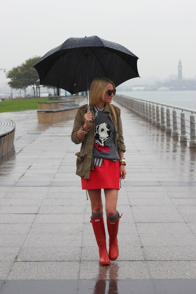 What to wear On a rainy summer day! - The Style DoctorThe Style Doctor