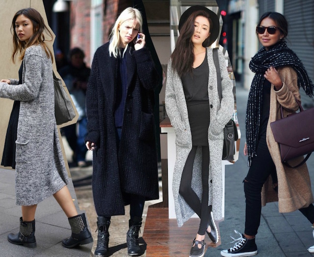 long-length-maxi-cardigan-outfits-street-style-looks-fashion-trends-models-off-duty-layering-winter-2014-2015