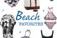 beach favorites